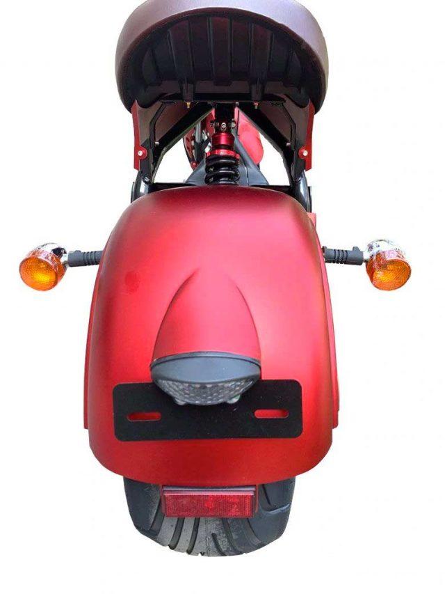 biker hinten rot